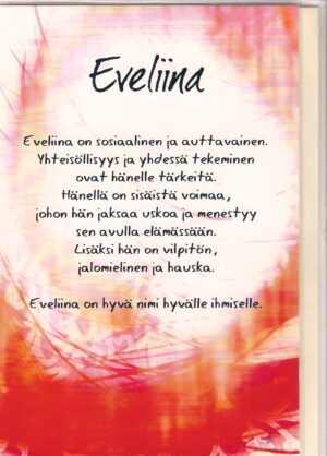 eveliina nimikortti